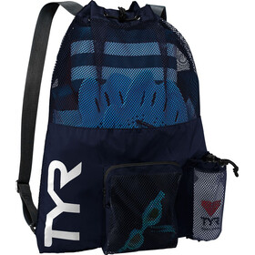 TYR Big Mesh Mummy Swim Backpack blue